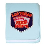 Las Vegas Fire Department baby blanket