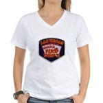 Las Vegas Fire Department Women's V-Neck T-Shirt