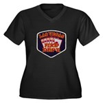 Las Vegas Fire Department Women's Plus Size V-Neck