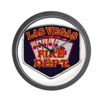 Las Vegas Fire Department Wall Clock