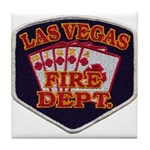 Las Vegas Fire Department Tile Coaster