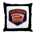 Las Vegas Fire Department Throw Pillow