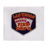 Las Vegas Fire Department Throw Blanket