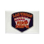 Las Vegas Fire Department Rectangle Magnet (10 pac