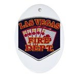 Las Vegas Fire Department Ornament (Oval)