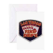 Las Vegas Fire Department Greeting Card