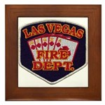 Las Vegas Fire Department Framed Tile