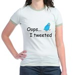 Oops I Tweeted Jr. Ringer T-Shirt