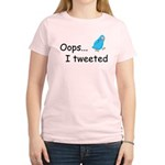 Oops I Tweeted Women's Light T-Shirt