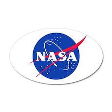 NASA 38.5 x 24.5 Oval Wall Peel