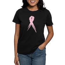 Breast Cancer Awareness Women's Camo T-Shirt