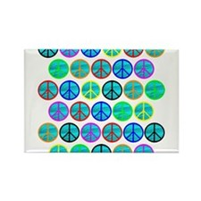 PEACE 33 Rectangle Magnet (100 pack)