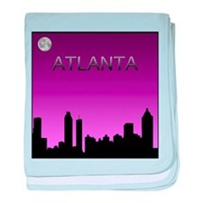 Atlanta Nites baby blanket