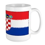 Croatian Flag Tasse