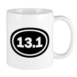 13.1 Black Oval True Mug