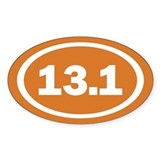 13.1 Burnt Orange True Decal
