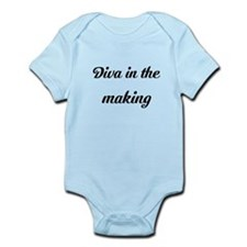 Unique Baby diva Infant Bodysuit