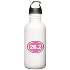 26.2 Pink Oval True Water Bottle