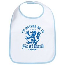 I'd Rather Be In Scotland Bib