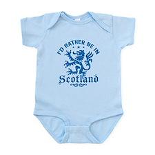 I'd Rather Be In Scotland Infant Bodysuit