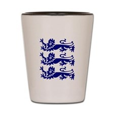 Lionheart Three Lions Shot Glass