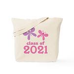 2021 Girls Graduation Tote Bag