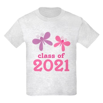 2021 Girls Graduation Kids Light T-Shirt