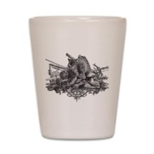 Medieval Armor Shot Glass