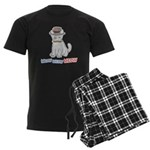 Meow Men's Dark Pajamas