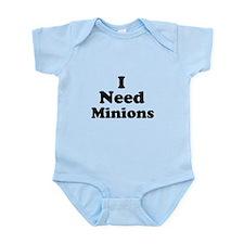 I Need Minions Onesie