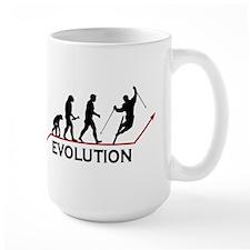 Skiing Evolution Mug