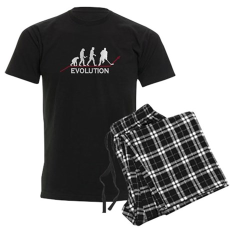 Hockey Evolution Men's Dark Pajamas