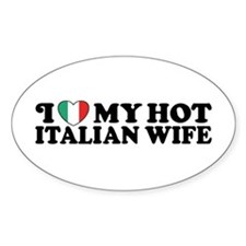 Hot Italian Wife Decal