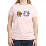 Legs Bucket of Chicken Women's Pink T-Shirt