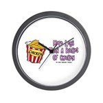 Legs Bucket of Chicken Wall Clock
