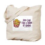 Legs Bucket of Chicken Tote Bag