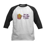 Legs Bucket of Chicken Kids Baseball Jersey