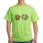 Legs Bucket of Chicken Green T-Shirt