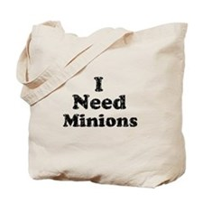 Vintage I Need Minions Tote Bag
