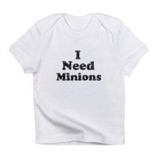 Vintage I Need Minions Infant T-Shirt