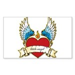 Little Angel Sticker (Rectangle 10 pk)