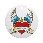 Little Angel Ornament (Round)