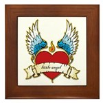 Little Angel Framed Tile