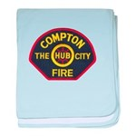 Compton Fire Department baby blanket