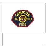 Compton Fire Department Yard Sign