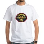 Compton Fire Department White T-Shirt