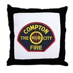 Compton Fire Department Throw Pillow