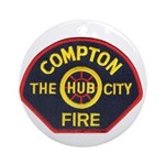 Compton Fire Department Ornament (Round)