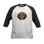 Compton Fire Department Kids Baseball Jersey