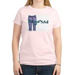Dungarees Women's Pink T-Shirt